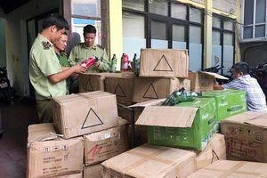 Lực lượng quản lý thị trường Hà Nội: Bước vào cao điểm kiểm tra, kiểm soát