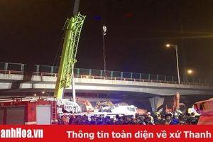 Nhiều người thiệt mạng trong vụ sập cầu vượt ở Trung Quốc
