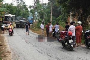 Tông vào chó chạy ngang đường, người chồng tử vong, vợ bị thương nặng