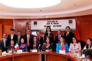 Ra mắt nhóm Nghị sĩ hữu nghị Mexico - Việt Nam