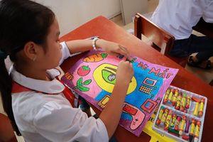 HKI nâng cao nhận thức bảo vệ mắt cho học sinh 31 trường tiểu học huyện Hải Hậu (Nam Định)