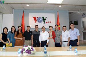 Lãnh đạo Đài Tiếng nói Việt Nam tiếp đoàn công tác Đài PT-TH Nghệ An