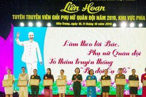 LH Tuyên truyền viên giỏi Phụ nữ Quân đội năm 2019 – KV phía Nam