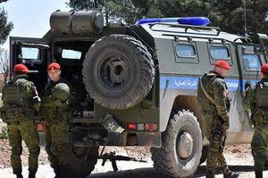 Đoàn xe tuần tra quân cảnh Nga bị trúng mìn tại Daraa, Syria