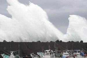 'To gần bằng diện tích Nhật Bản', siêu bão Hagibis gầm thét