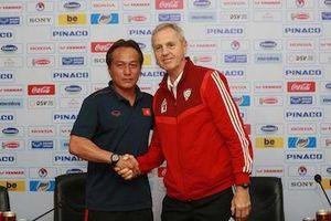 HLV Park Hang Seo chỉ đạo từ xa trận U22 Việt Nam- U22 UAE