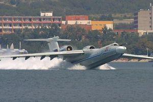 Choáng ngợp trước siêu thủy phi cơ trọng lượng cất cánh... 1.000 tấn của Nga