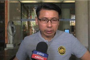 Che giấu nỗi buồn, HLV Malaysia cuối cùng cũng lên tiếng về thất bại trước tuyển Việt Nam