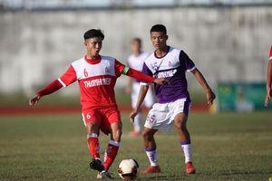 U.21 Hà Nội - U.21 TP.HCM (3-2) : Thầy trò Dương Hồng Sơn có 3 điểm ở phút 90