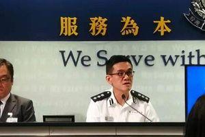 Cảnh sát Hồng Kông họp báo vụ 'xác người biểu tình trôi trên biển'