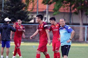 Hình ảnh buổi tập đầu tiên của tuyển Việt Nam tại Bali, sẵn sàng tìm 3 điểm trên sân Indonesia