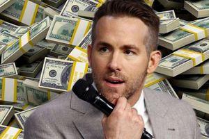 Ryan Reynold đang kiếm được một số tiền lớn từ Netflix và Apple?