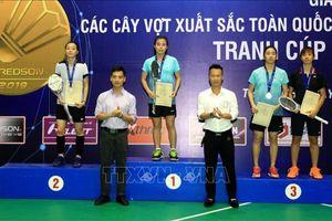 Giải Cầu lông các cây vợt xuất sắc toàn quốc năm 2019: Nguyễn Thùy Linh (Đồng Nai) giành HCB đơn nữ