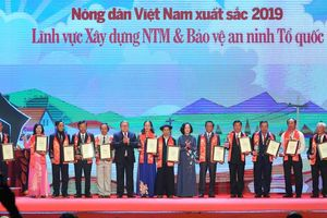 Vinh danh 63 nông dân Việt Nam xuất sắc năm 2019