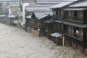 Siêu bão Hagibis tàn phá Tokyo và các tỉnh lân cận của Nhật