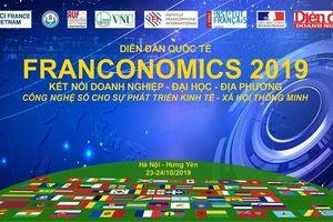 Diễn đàn Franconomics 2019: tăng cường kết nối và xúc tiến hợp tác ba bên doanh nghiệp - đại học - địa phương