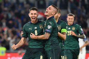 Tuyển Italy làm điều chưa từng có trong ngày giành vé dự Euro 2020