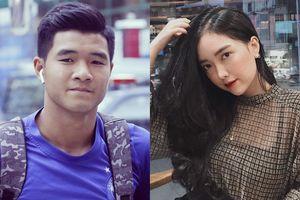 Bạn gái Tiến Dụng, Đức Chinh đi cổ vũ bạn trai ở trận đấu gặp U22 UAE