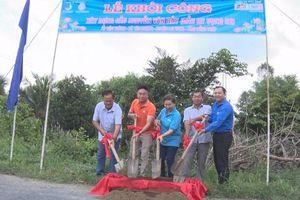 Khởi công xây dựng cầu mang tên Anh hùng phi công Nguyễn Văn Bảy