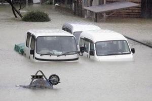 Nhật Bản: Động đất trong siêu bão, 2 người chết, 30 người bị thương