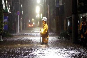 Khủng khiếp sức tàn phá của siêu bão Hagibis ở Nhật
