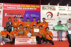 LHU giành vé đại diện Việt Nam tranh tài tại Cuộc thi Koma Taisen thế giới 2020