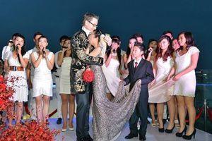 Sao Việt gặp sự cố dở khóc dở cười trong đám cưới, cô dâu ngất xỉu
