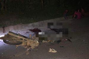 Thiếu niên lái xe máy đấu đầu nhau, 4 người thiệt mạng