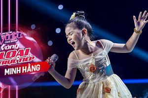 Minh Hằng khoe nội lực giọng hát 'siêu khủng', xuất sắc góp mặt trong Top 6 The Voice Kids 2019