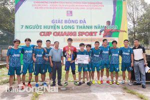 Công ty Minh Thuận vô địch giải bóng đá 7 người huyện Long Thành năm 2019