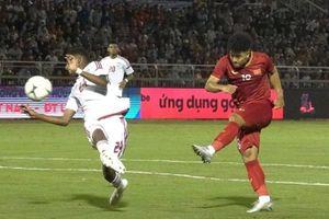 Bàn thắng của Hà Đức Chinh trong trận hòa 1-1 của U22 Việt Nam
