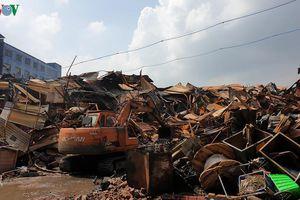Hoàn thành việc xử lý phế thải nguy hại tại Công ty Rạng Đông
