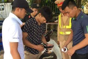 Thêm 15 tổ công tác 141 bắt đầu xử lý nghiêm thanh niên ngổ ngáo vi phạm mũ bảo hiểm, vượt đèn đỏ