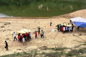 Đã tìm thấy thi thể thứ 3 vụ đuối nước trên sông Ngàn Sâu
