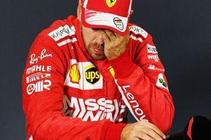 Vettel không bị phạt dù mắc lỗi hiếm thấy trên đường đua