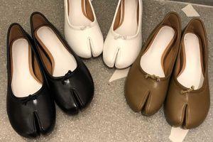 Giày giống móng heo được giới trẻ Hàn Quốc liên tục tìm mua