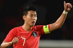 Son Heung-min sẽ đối đầu Neymar sau trận gặp Triều Tiên