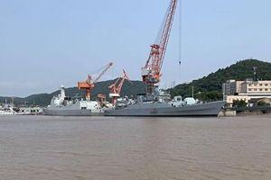 Tàu chiến loại biên của Trung Quốc đến láng giềng Ấn Độ