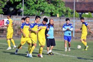 Tuyển Việt Nam tập trung cho trận gặp Indonesia