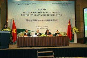 Việt Nam-Trung Quốc đẩy mạnh hợp tác sản xuất, chế biến, tiêu thụ chè, cà phê