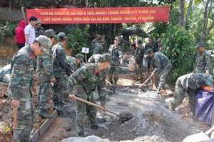 Tình quân dân dưới chân núi Mỏ Neo