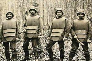 Những thiết bị bảo vệ kinh điển trong Thế chiến thứ nhất