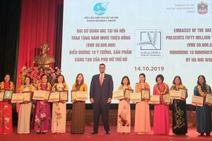 Tưng bừng Ngày hội Phụ nữ Thủ đô Sáng tạo – Khởi nghiệp