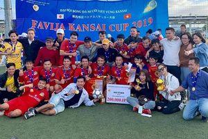 Giải bóng đá thu hút gần 1.000 người Việt Nam tại Nhật Bản