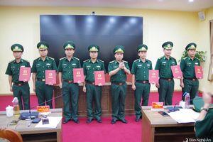 Bộ đội Biên phòng Nghệ An bổ nhiệm 2 Phó Tham mưu trưởng mới