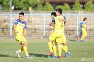 Phạm Xuân Mạnh của SLNA được HLV Park Hang-seo đăng ký cho trận Indonesia