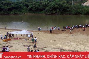 Tắm sông Ngàn Sâu, 3 học sinh Hà Tĩnh đuối nước thương tâm