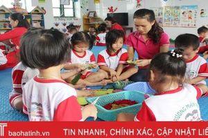 'Lấy trẻ làm trung tâm' giúp các mầm non phát triển toàn diện