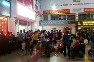 Ngày 20.10, ga Sài Gòn mở bán gần 300.000 vé tàu Tết Canh Tý