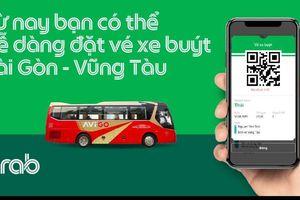 Thử nghiệm dịch vụ đặt vé xe buýt trên ứng dụng Grab